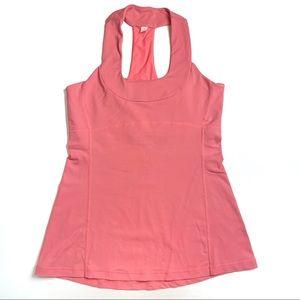Lululemon Scoop Neck Tank Coral Pink Size 6